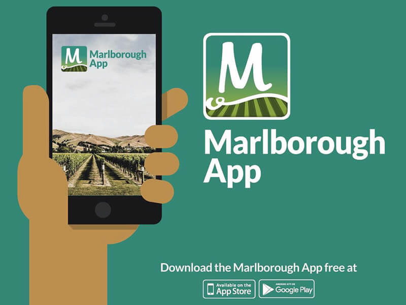 Marlborough App Promo Flyer Shared By Tawny Hills BnB